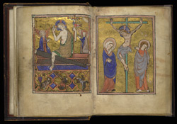 The Resurrection And Crucifixion, Added To 'The Map Psalter'